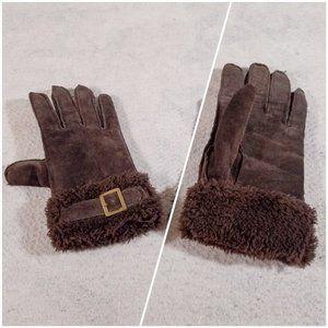 Women's Cute Lined Warm Winter Driving Gloves